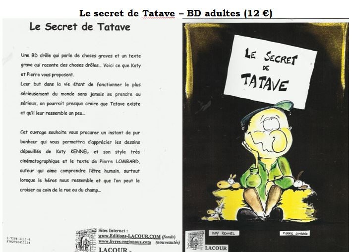 Secret de Tatave couverture