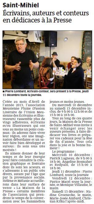Article Maison de la Presse Plume d'hiver 2014 12 01