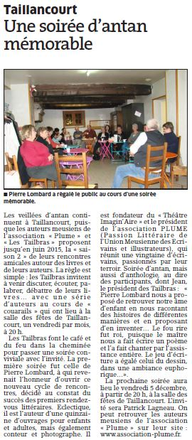 Article Tailbras Pierre Lombard 2014 12 01