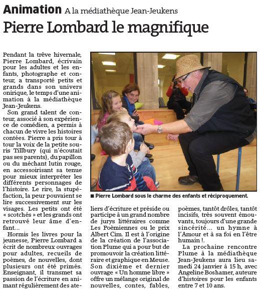 Article médiathèque Pierre 2015 01 10