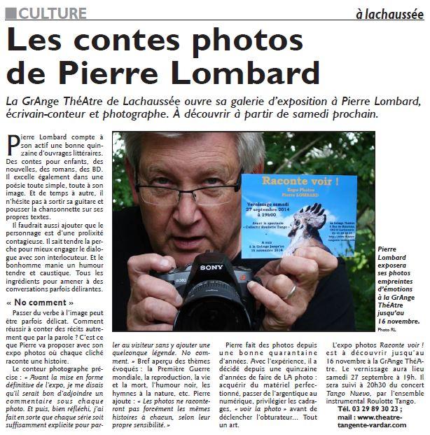 Article Républicain Lorrain 2014 09 20