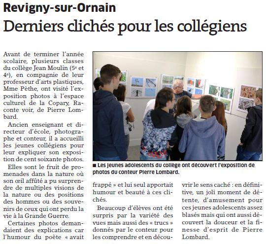 Article Revigny 2016 07 05