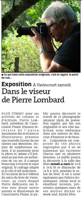 Article expo Vavincourt 2015 03 19